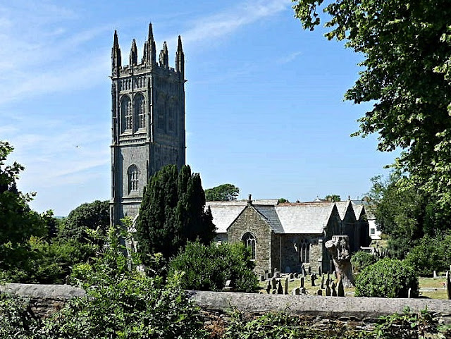 Probus church, Cornwall, with highest tower in Cornwall