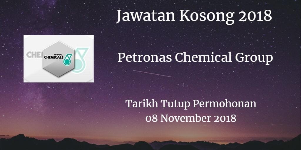 Jawatan Kosong Petronas Chemical Group 08 November 2018