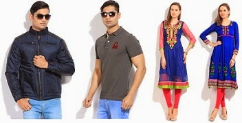 Buy any 2 UCB Men's Clothing Get 50% Off | Flat 63% Off on Anksh & Ishwar Women's Anarkali Kurta just for Rs.699 Only @ Flipkart (Limited Period Deal)