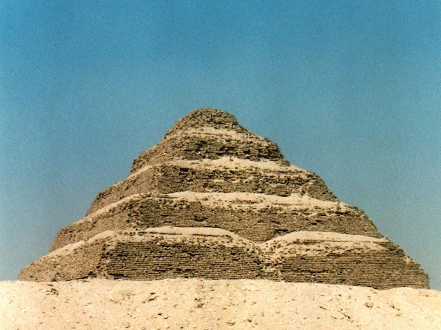 Pirámide; Pyramid; Pyramide; Saqqara; Zoser; Egipto; Egypt; Egypte