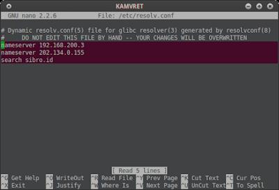 Pastikan client terhubung ke server centos, lalu rubah dns pada client nya menjadi 192.168.200.3 (linux : /etc/resolv.conf) (windows :di connection, cari sendiri)