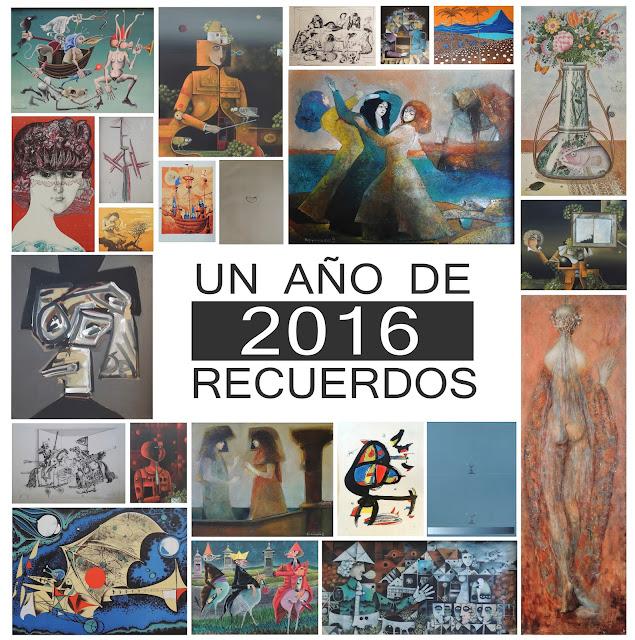 Obras vendidas Gaudifond Arte 2016