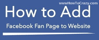 Add Facebook Page To Website/Blog