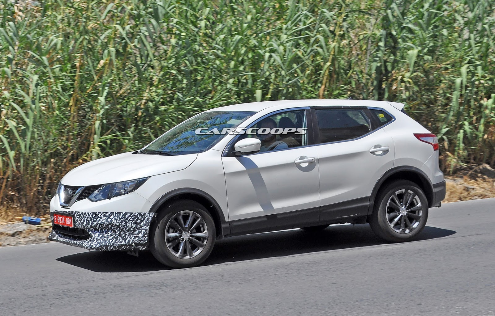 What Gives With This Nissan Qashqai Prototype; Could It Be ...