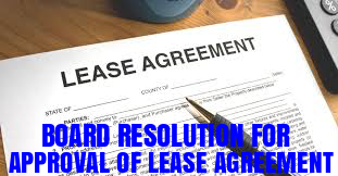 Board-Resolution-Approval-Lease-Agreement