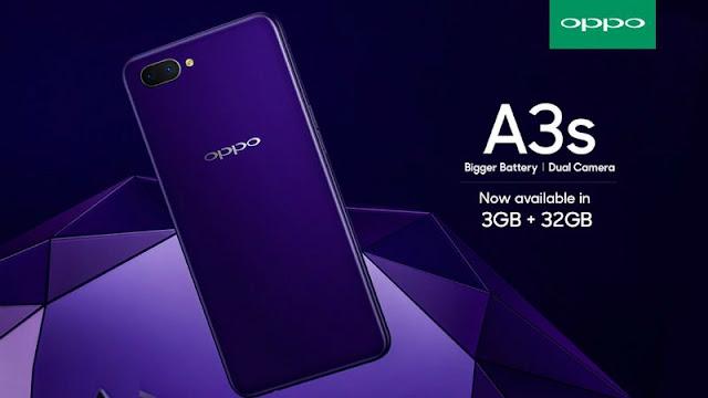 هاتف Oppo A3s