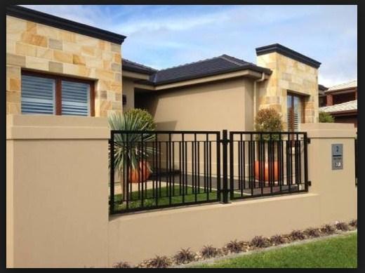 Model pagar halaman rumah minimalis