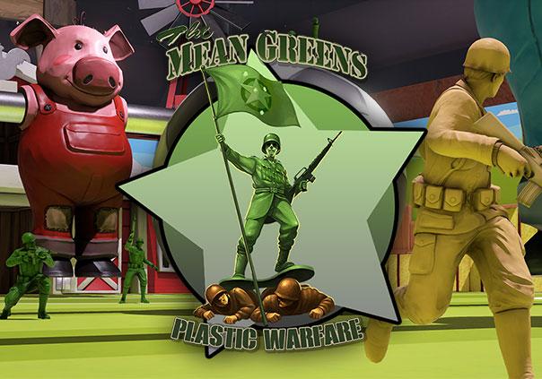 hình ảnh trong game The Mean Greens - Plastic Warfare