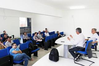 Reitor e Pró-Reitores da UFCG participam de reuniões em Cuité para discutir Gestão Institucional