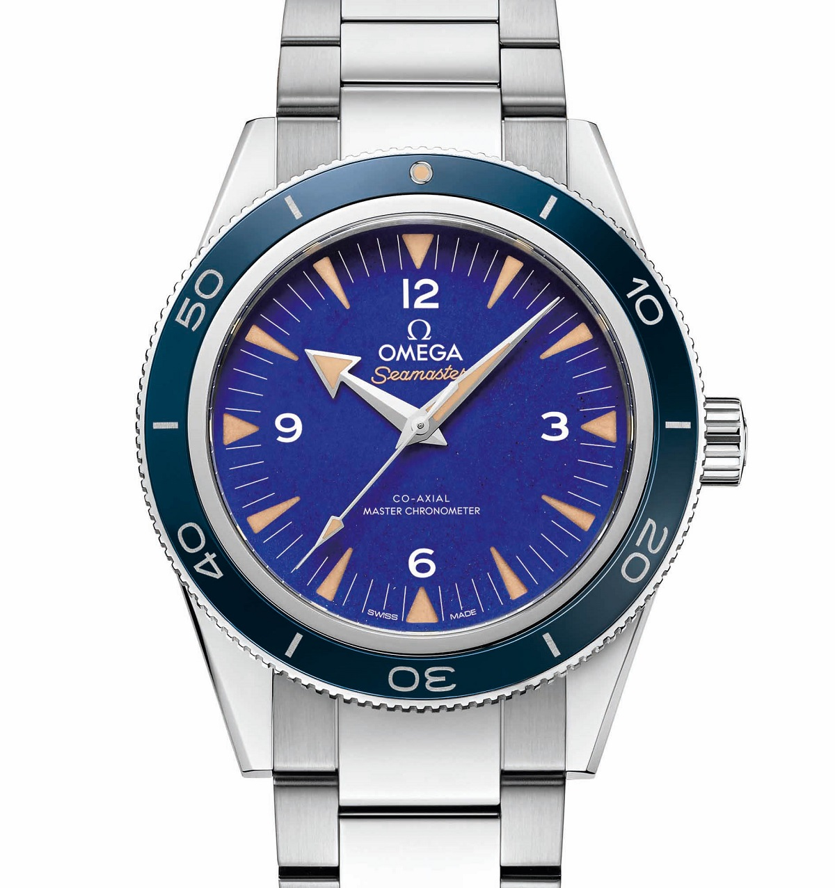 f510a12ad240 2018 new High end Omega Seamaster 300 Malachite and Lapis Lazuli ...