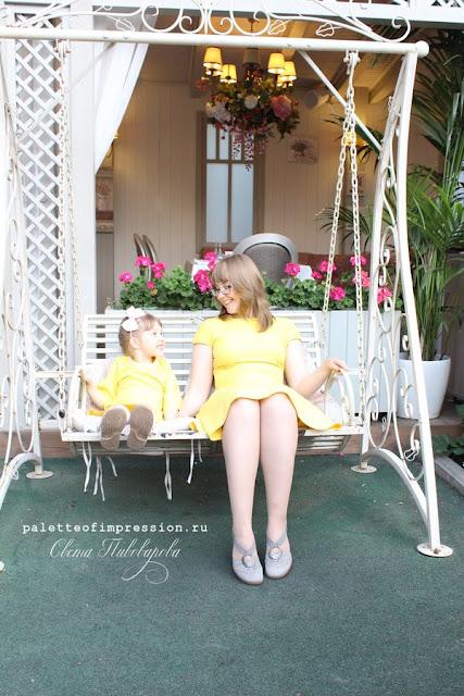 Платья для мамы и дочки. Какая красивая мама. Девочки носят платьишки. Платья по выкройкам Grasser Блог Вся палитра впечатлений Palette of impression blog
