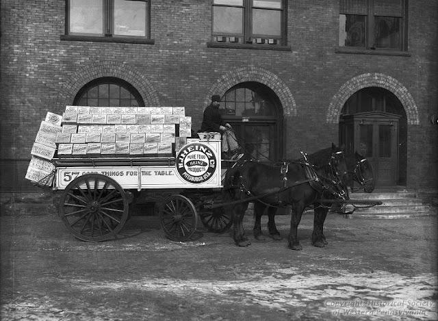 Eaglesfield Percherons: H.J. Heinz Company Hitch