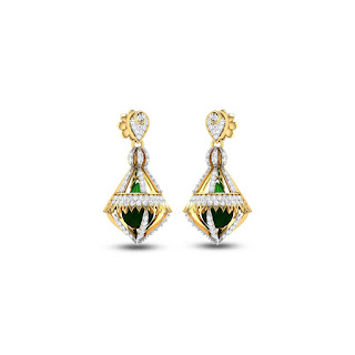 Diamond Jhumkas  - Zaamor Diamonds