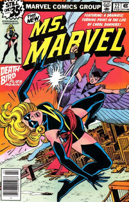 Ms Marvel #22, Death-Bird