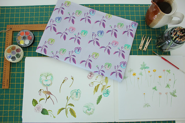 Lauren Kelly, Thistle and Fox, Sketchbook Conversations, My Giant Strawberry