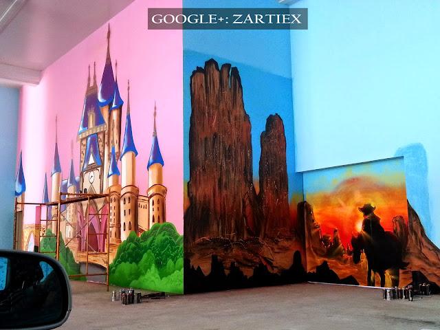 Decorar y pintar mi cuarto o mi habitacion con murales de Graffitis en Madrid 9