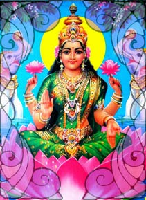 Illustration of Lakshmi | Wicca, Magic, Witchcraft, Paganism