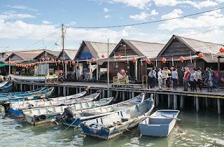 gambar chew jetty penang malaysia