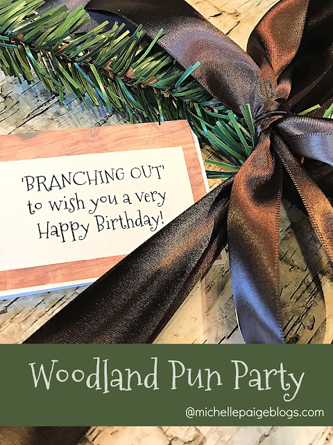Tree themed party with free printables@michellepaigeblogs.com