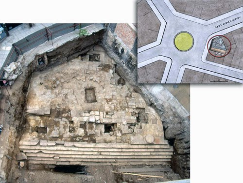 Ancient temple to be buried under an apartment block