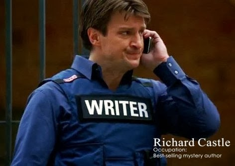 Castle S Study Who Am I M Rick 02 Really Ruggedly Handsome Aren T