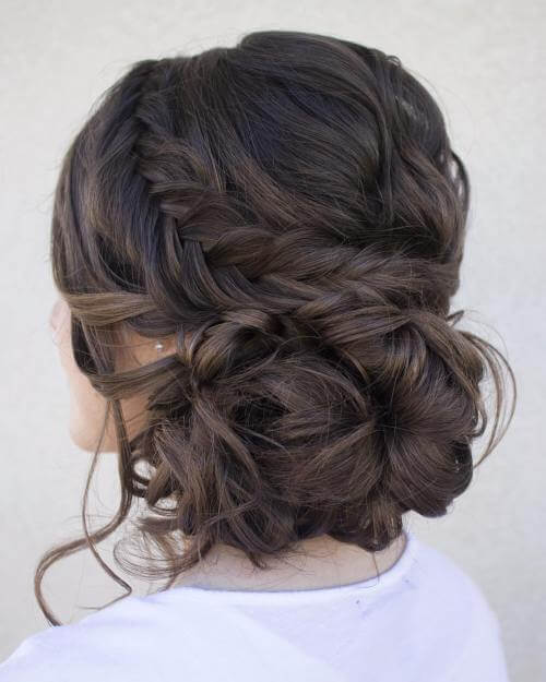 Attractive messy Updos