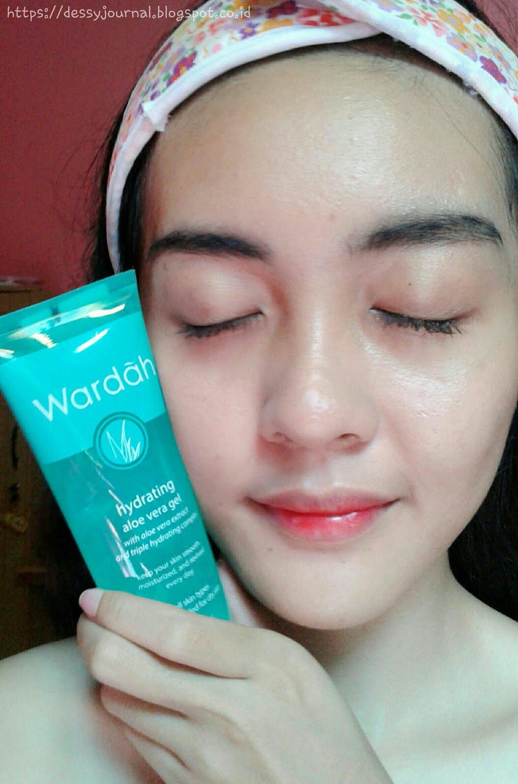 Dessy Journal Review Wardah Hydrating Aloe Vera Gel