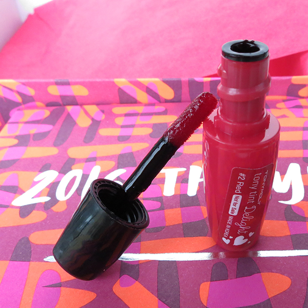 Jan 2016 Birchbox: TONYMOLY Delight Tony Tint