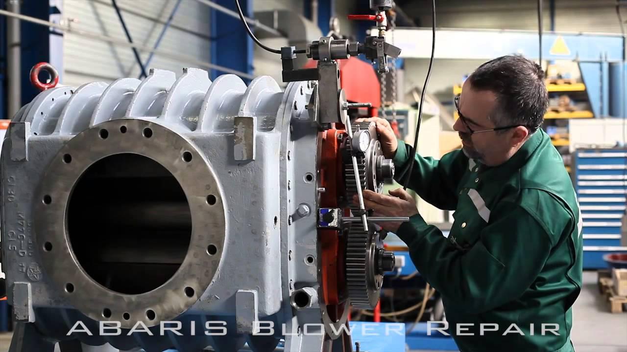 sửa chữa máy thổi khí, bảo dưỡng máy thổi khí, sửa quạt Roots blower, máy thổi khí, Roots blower