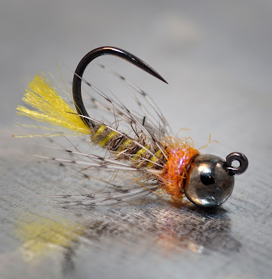 Yellow Tail Jig - Soft Hackle