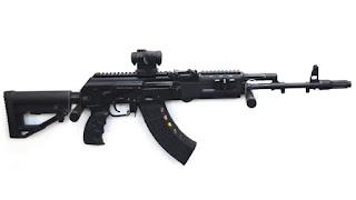 MoU on Ak-203 Assault Rifles