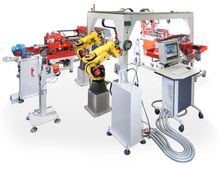 Автоматизация изготовления деталей из труб на основе промышленных роботов