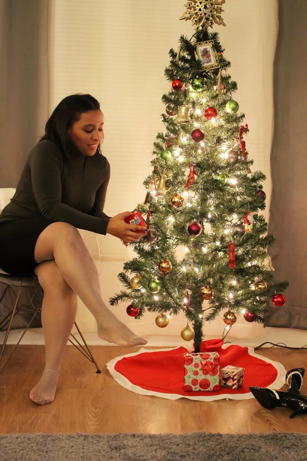 christmas, navidad, holiday looks, berkshire, hosiery, hosiery for the holidays, pantyhose