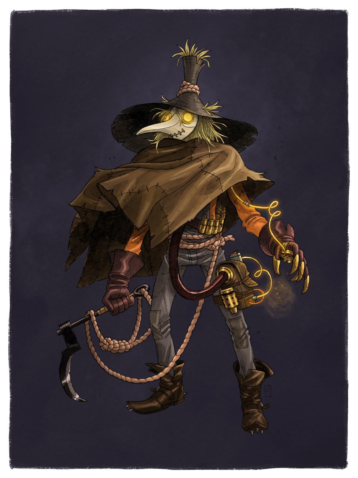 Scarecrow (Character) - Comic Vine |Scarecrow Villain