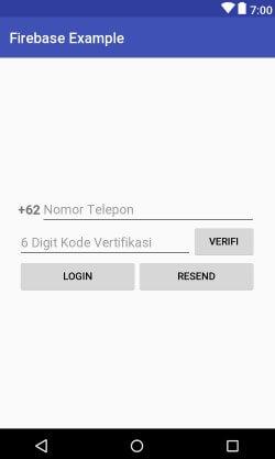 WildanTechnoArt-Design Layout Login Activity Menggunakan Nomor Telepon