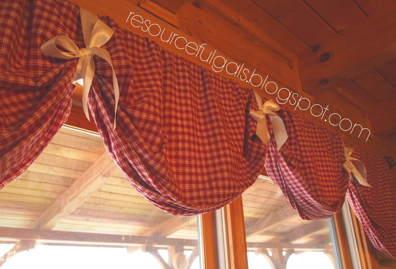 The Resourceful Gals Super Easy No Sew Diy Curtains