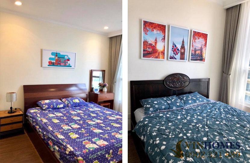 Căn hộ 2PN cho thuê Landmark 5 view khu biệt thự và sông SG - hinh 3