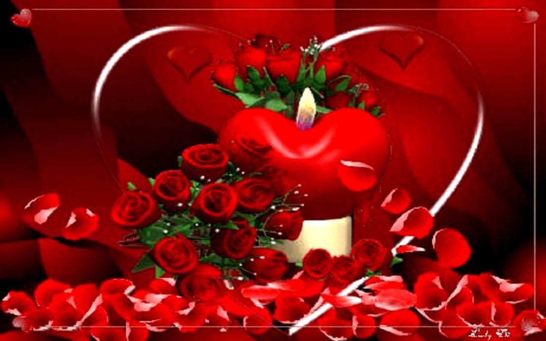 beautiful love red heart free hd wallpaper hd wallpaper