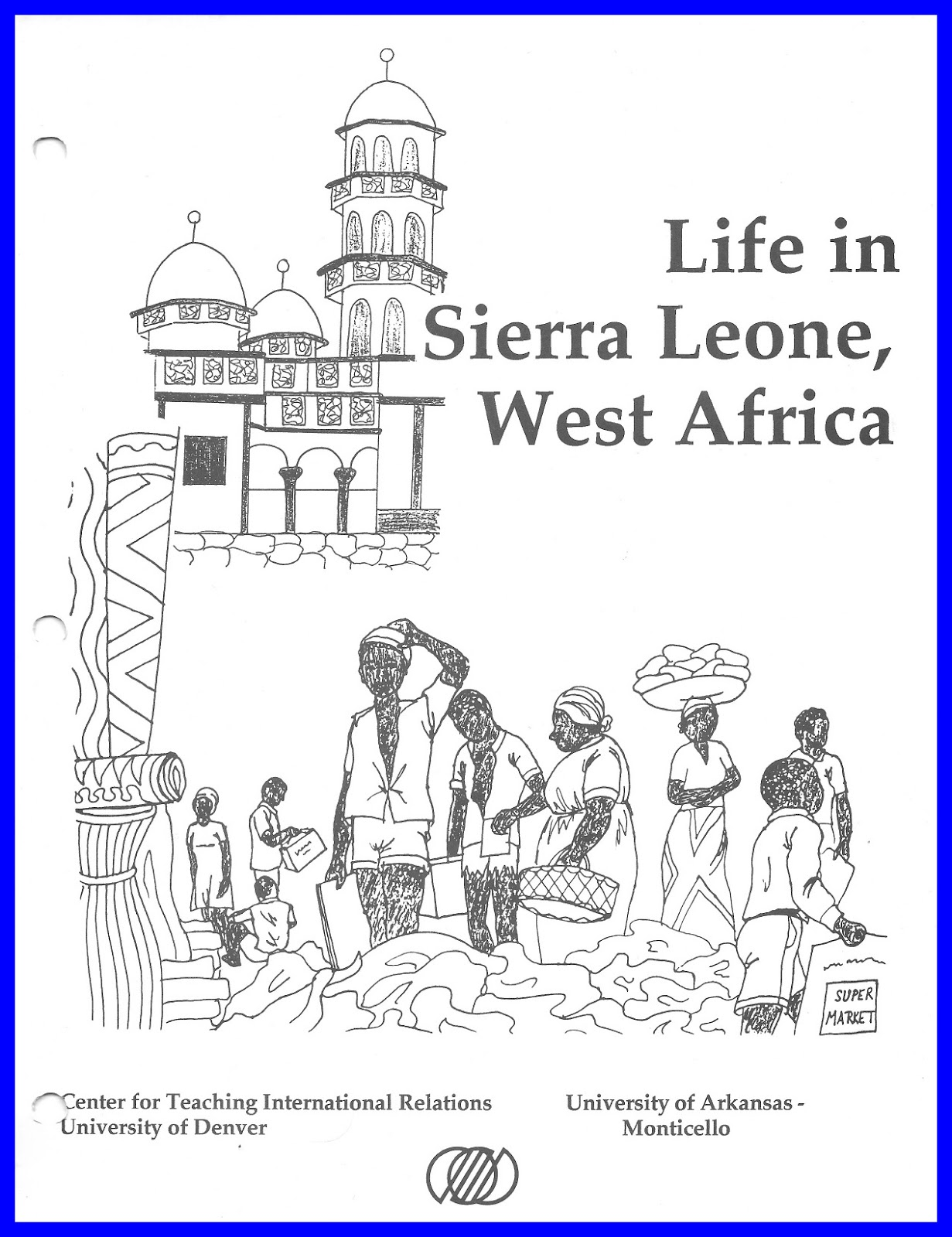 Find clip art and writing prompts in an African Studies freebie sampler by The ESL Nexus