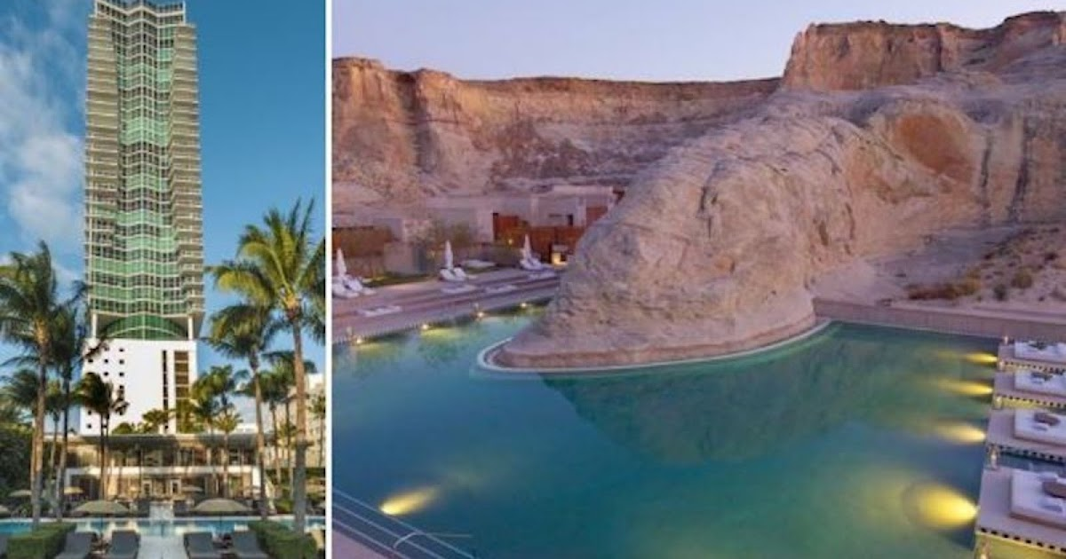 10 Of The Most Beautiful Hotels In America That Deserve A