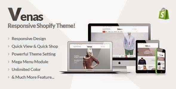 Responsive Shopify Theme 2015