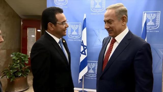 Diputados opositores de Guatemala rechazan celebrar día de Israel