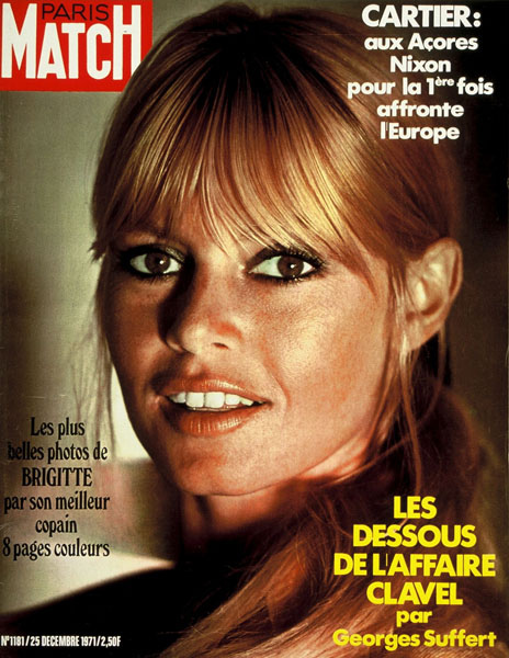 Paris Match Magazine Covers  vintage everyday