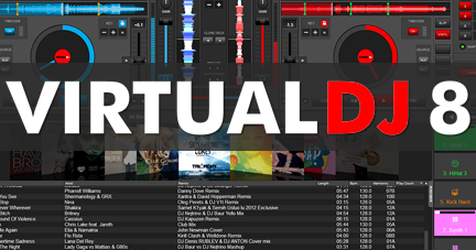 virtual dj 8 full  + crack mega