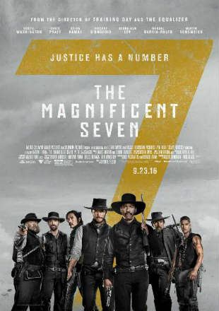 The Magnificent Seven 2016 BRRip 720p Dual Audio