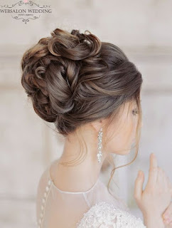 coiffure mariage cheveux longs femme