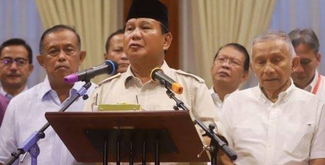 Prabowo Batal Buat Surat Wasiat