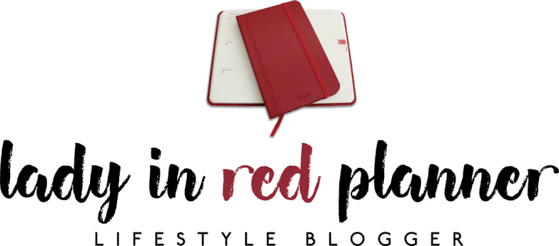 Lady In Red Planner