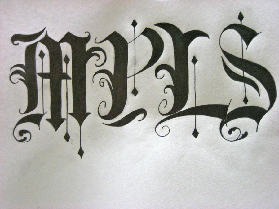 Calligraphy Alphabet : A Trip To The History Of English ...Old English Numbers