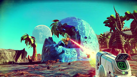 Hello Gmes Release a new big update for No Man's Sky